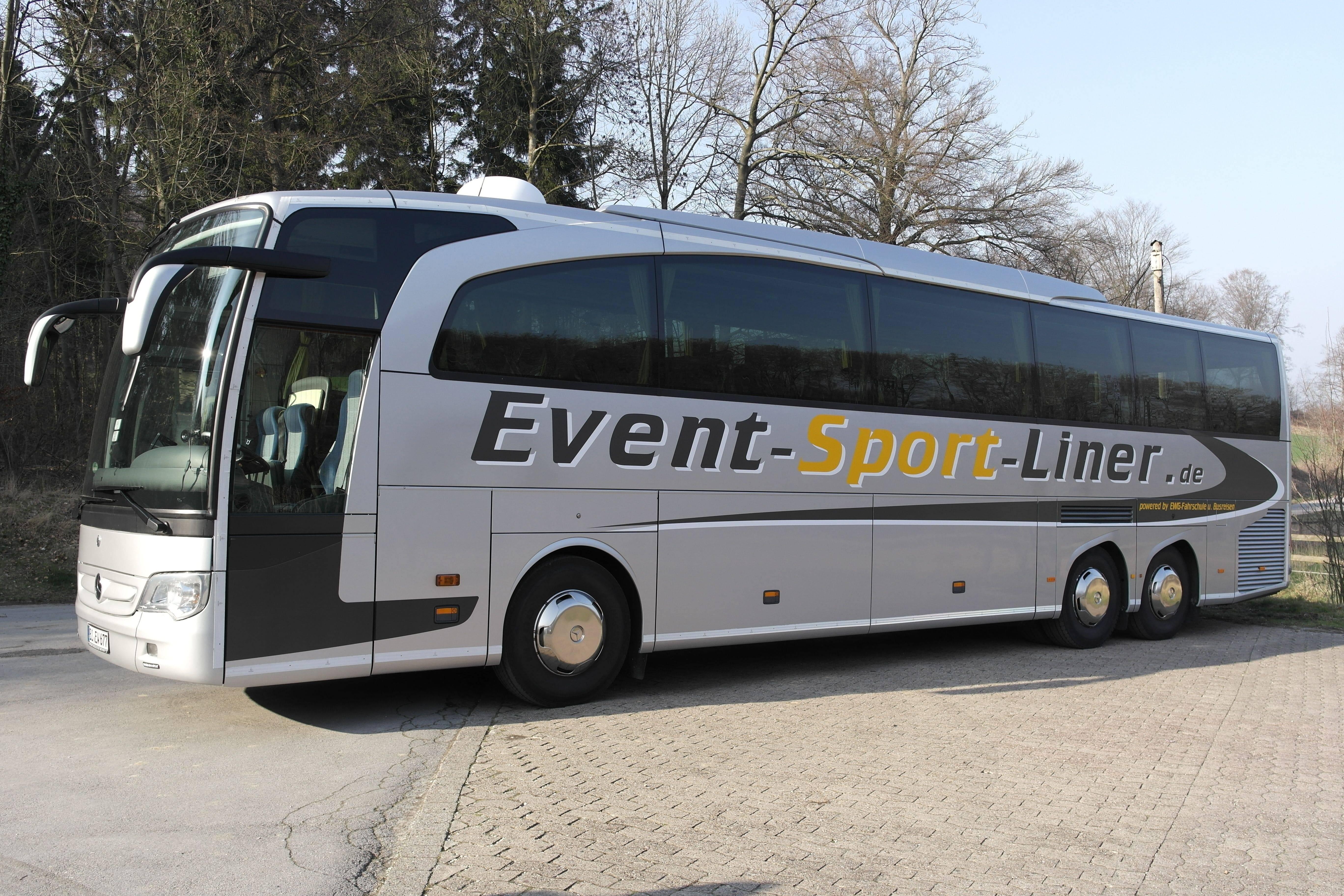 Luxus-Reisebus - Mercedes-Benz Travego - Individuelle Busreisen mit der EWG Busreisen GmbH